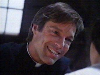 THE 60s heartthrob, Richard Chamberlain, playing a priest.