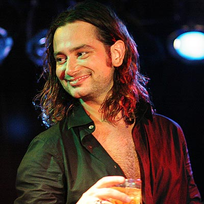 "Constantine Maroulis of ""American Idol"" and now ""Rock of Ages"" fame."